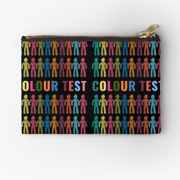 Colour Test, People of All Colours Zipper Pouch