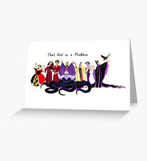 That Girl is a Problem Greeting Card