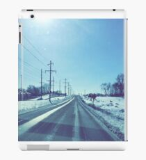 Winter Drive iPad Case/Skin