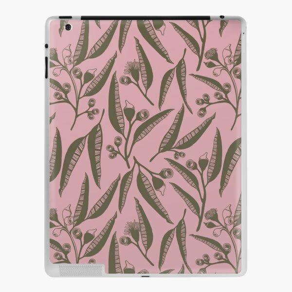 Australian Bush Leaves - Romantic Pink iPad Skin