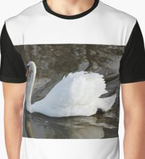 River Swan Graphic T-Shirt