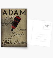 Postales Adam - Bioshock