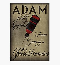Adam - Bioshock Photographic Print