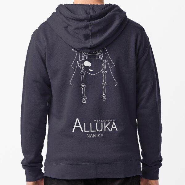 Alluka Nanika . dark continent. hunter Veste zippée à capuche