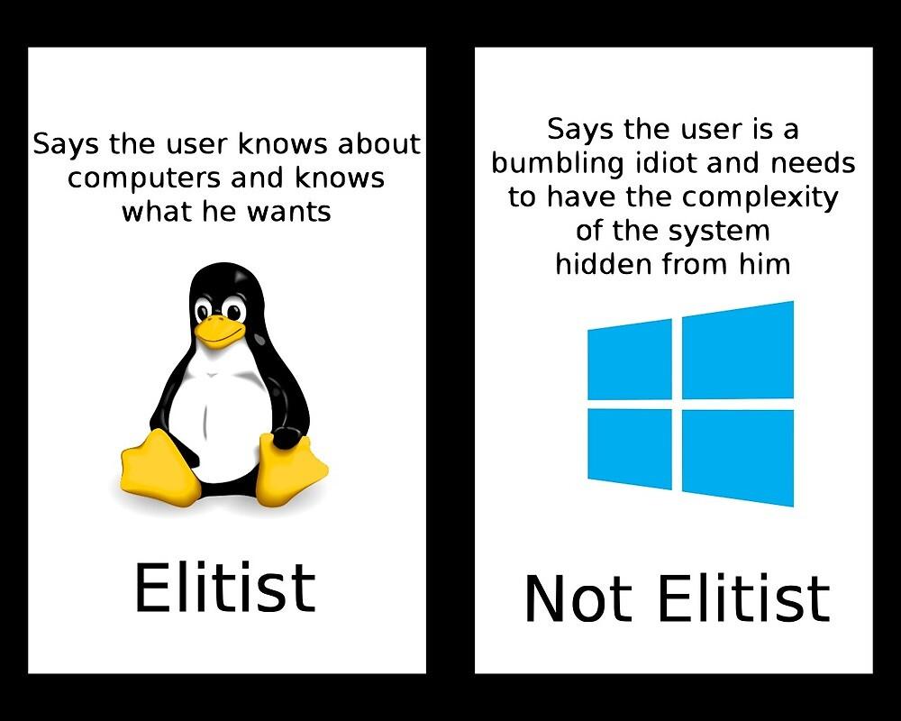 linux vs windows by Jugulaire