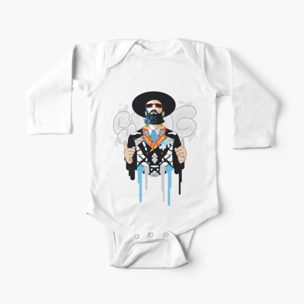 No one but him | Modern and original jewish art Long Sleeve Baby One-Piece