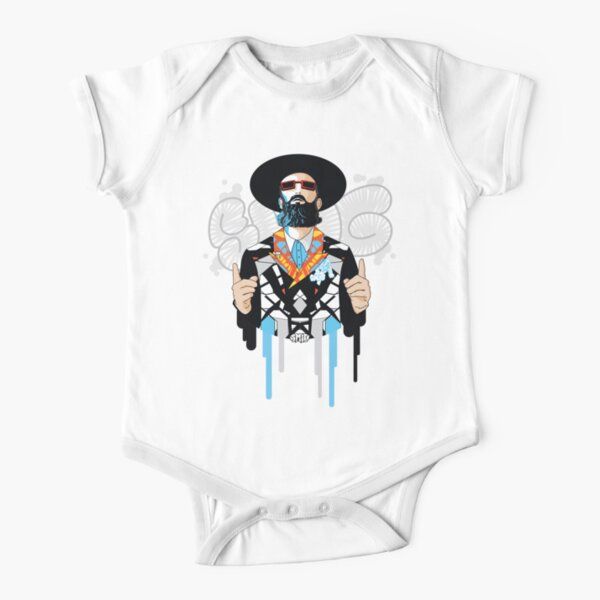 No one but him | Modern and original jewish art Short Sleeve Baby One-Piece