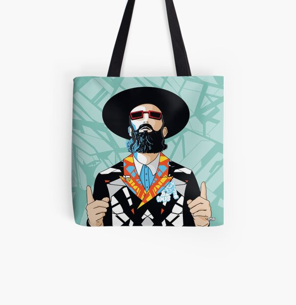 No one but him | Modern and original jewish art All Over Print Tote Bag