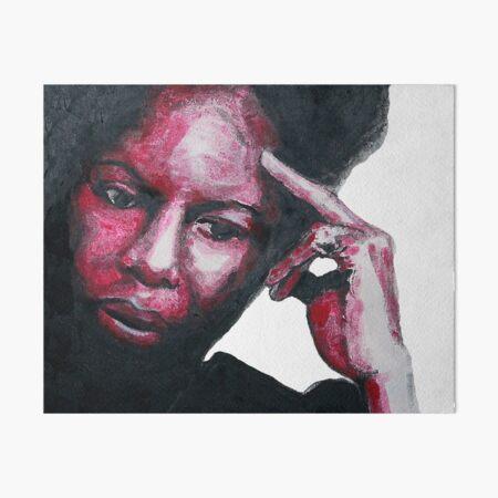 Nina Simone  Art Board Print