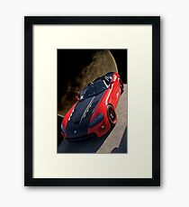 20XX Dodge Viper 'Moon Walk' Framed Print