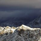 Dusted Peaks by © Loree McComb