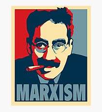 Groucho Marx-ism Photographic Print