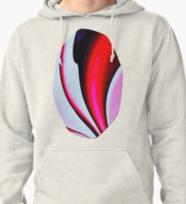 Abstract Fractal Colorways 02BPk Pullover Hoodie