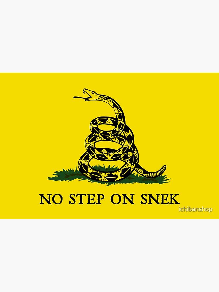 No Step on Snek Flag by ichibanshop
