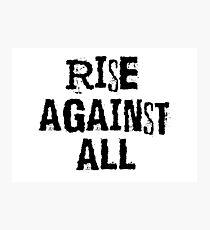 Punk Rock Music Revolution Rebel T-Shirts Photographic Print
