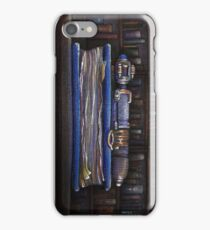 Doctor Who Silence Library Screwdriver iPhone Case/Skin