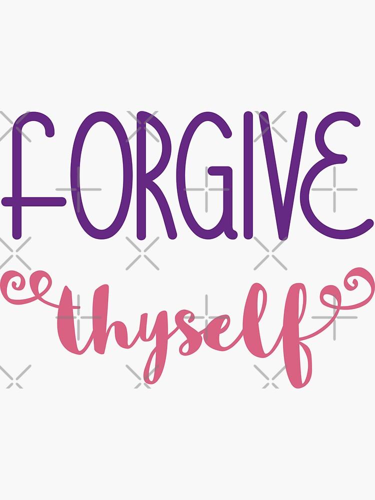 Forgive Thyself by a-golden-spiral