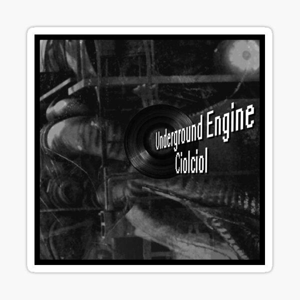 Underground Engine Sticker