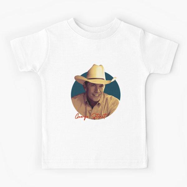 George Strait Musician  Kids T-Shirt