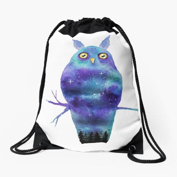 Night Owl Drawstring Bag