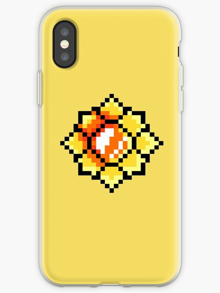 quality design a4c20 f8e33 'Pokemon Kanto Badges: Pixel Art Thunder Badge' iPhone Case by bearbot