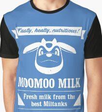 MooMoo Milk old ad Graphic T-Shirt
