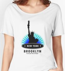 The Big Apple, NY Women's Relaxed Fit T-Shirt
