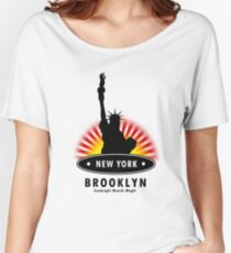 The Big Apple 99, NY Women's Relaxed Fit T-Shirt