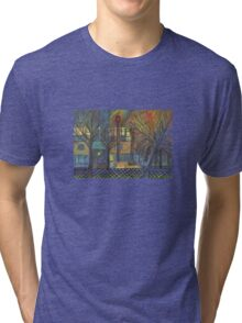 Night Time on Barns Road Tri-blend T-Shirt