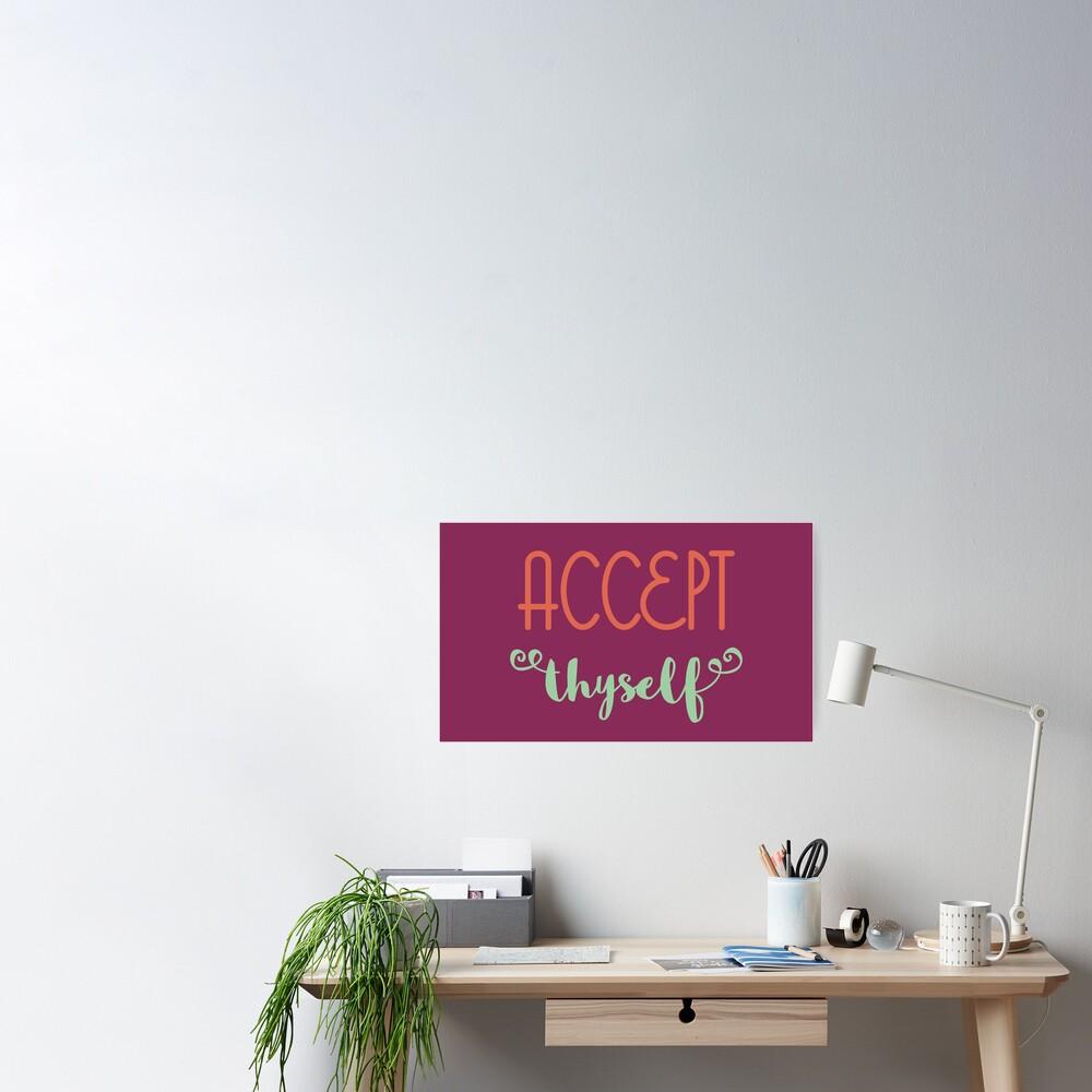 Accept Thyself Poster