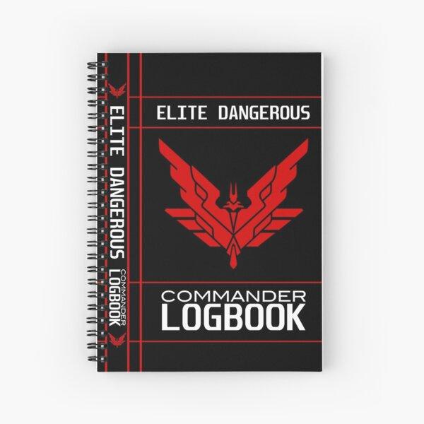 Elite Dangerous: COMMANDER LOGBOOK Spiral Notebook