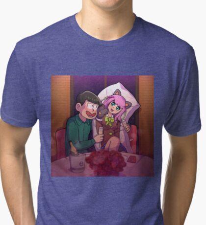 ChoroNyaa Tri-blend T-Shirt