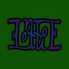 """Lottie"" Ambigram (reversible image) by flatfrog00"