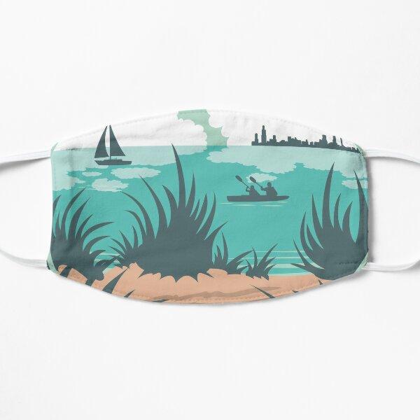 Happy Beachin Flat Mask