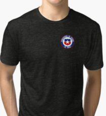 Chile Footbal  Tri-blend T-Shirt