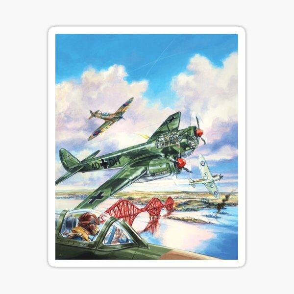 WW2 Raid on the Forth Sticker