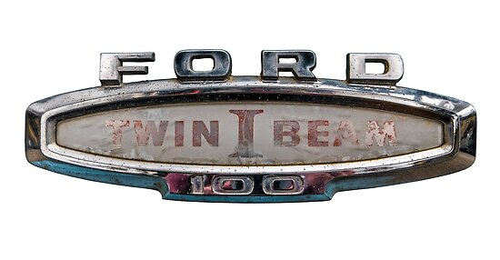 Vintage Ford Truck Sign Posters By Mrdoomits Redbubble