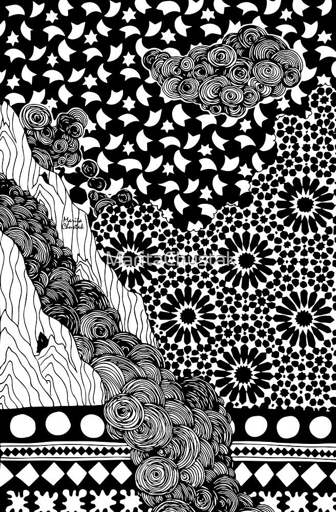 Mountainside Dream by MaritaChustak