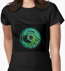 Open Womens Fitted T-Shirt