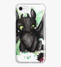 Toothless Watercolor iPhone Case/Skin