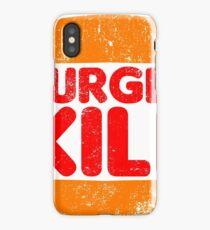 Burger Kill iPhone Case/Skin