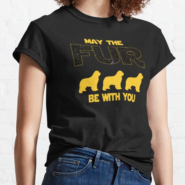 Newfoundland Owner Sci Fi Lover Gift Classic T-Shirt
