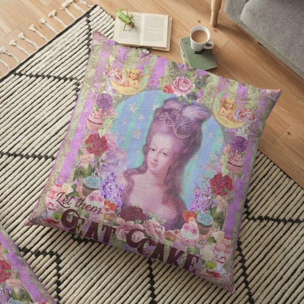 Let Them Eat Cake - Marie Antoinette Floor Pillow