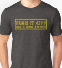 Turn It Off- Book Of Mormon T-Shirt