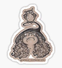 Greek Witch Sticker