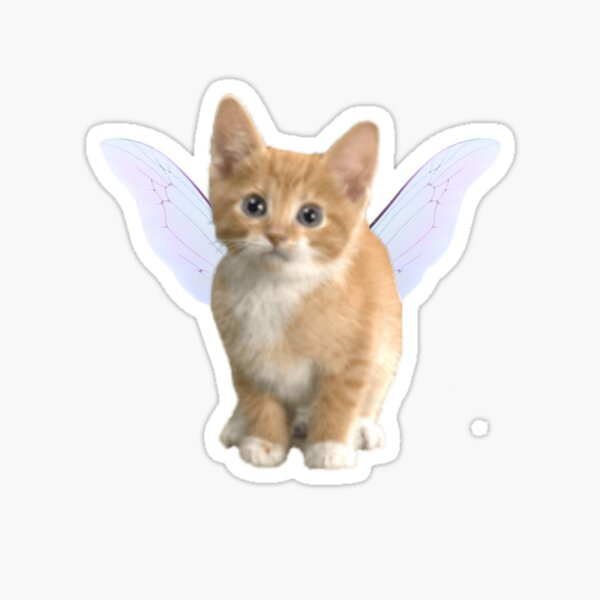 chat de fée Sticker