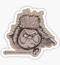 Russian Witch Sticker