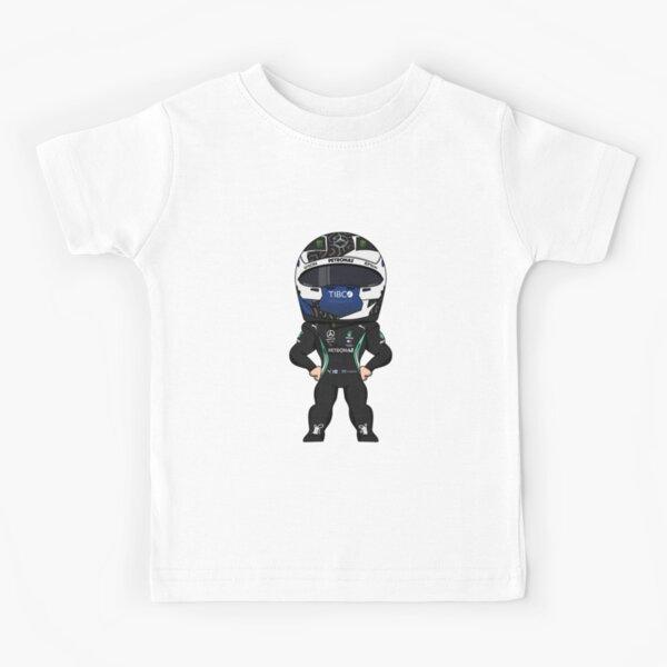 Valtteri Bottas Mercedes Petronas Formule 1 2020 T-shirt enfant