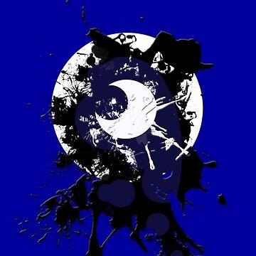 Luna's Splatter Mark - Phone Case (MLP:FiM) by cerulean-prints