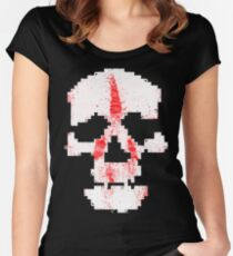 Digital Death Women's Fitted Scoop T-Shirt
